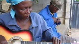 "Botswana Music Guitar - Ronnie -""Happy New Year""!"