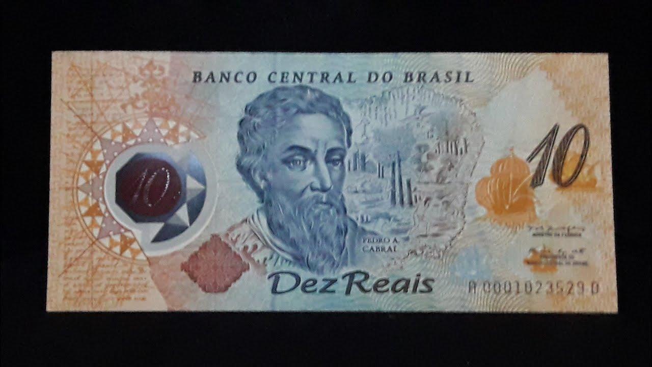 Cédula rara vale 1.500,00 !!! você tem ? 10 reais de plastico ano 2000