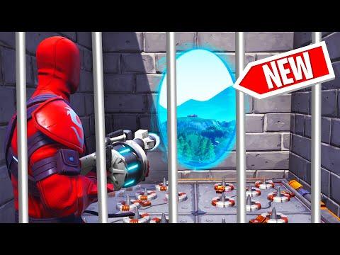 ESCAPE PRISON USING PORTALS! (Fortnite)