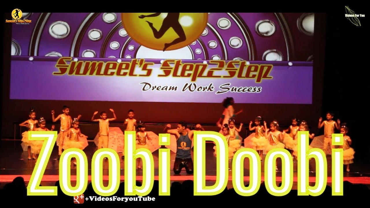 Zoobi doobi| dance |stepout 2018| sumeetstep2step |lyrics| song.
