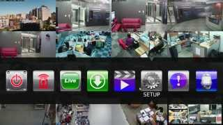 AiP SVR Setup Eenvoudig IP camera bewaking installeren