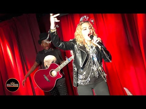 Madonna Surprises Fans on New Year's Eve - Performs 'Like a Prayer' for 150 People at Stonewall Mp3
