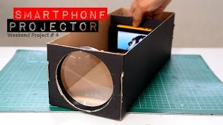Build A Smartphone Projector With A Shoebox(Did you know you can turn an old shoebox and some office supplies into a Smartphone Projector? Yes you can! It is a very fun, simple and easy project that you ..., 2015-07-06T14:36:08.000Z)