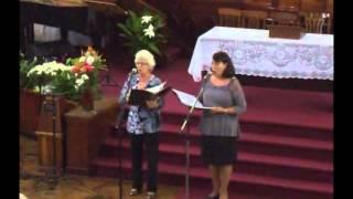 Dueto   Elcy e Sandra    07 04 2013   Iplapa