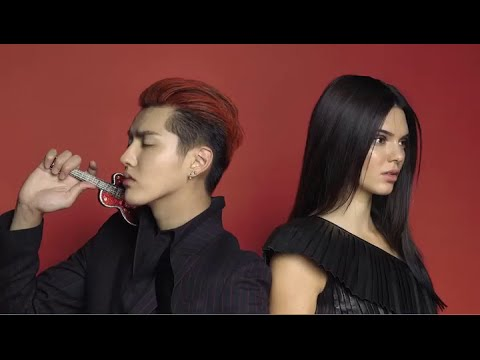 Kris Wu and Kendall Jenner Vogue China BTS (2)