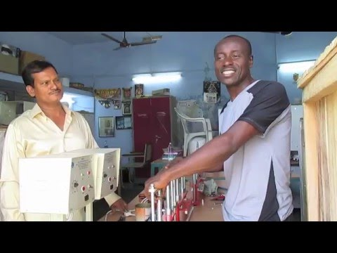 Alfred Nsodu Meets Arunachalam Muruganantham