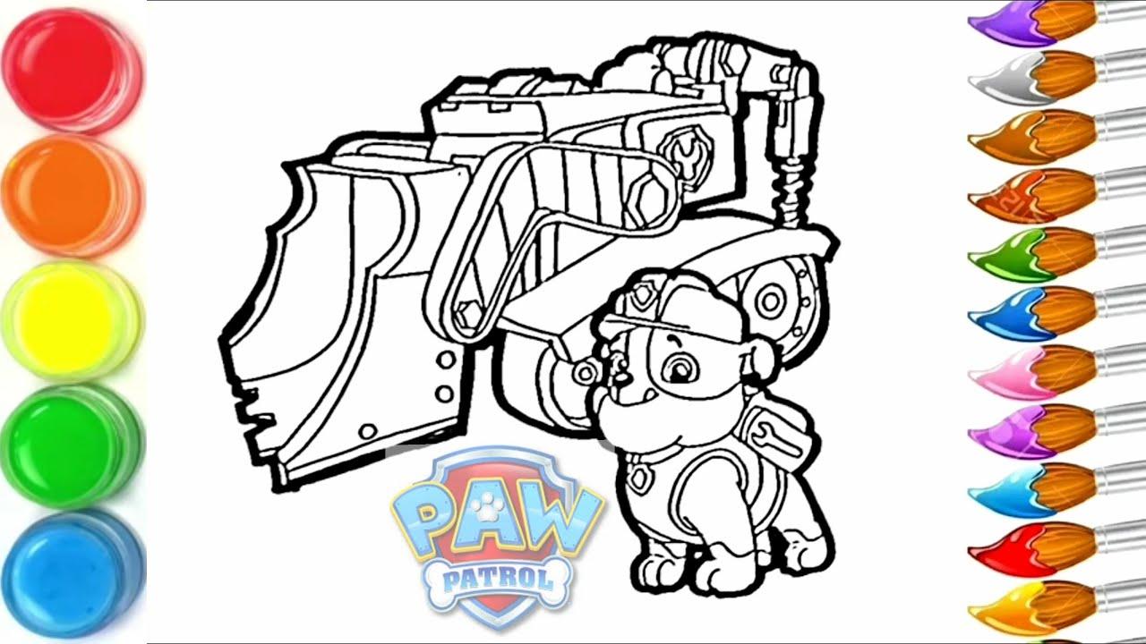 Dessin Et Coloriage Ruben Et Son Vehicule Pat Patrouille How To Draw Ruben Pat Patrol Tt85 Youtube