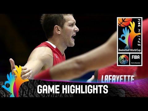 Argentina v Croatia - Game Highlights - Group B - 2014 FIBA Basketball World Cup