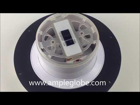 solar powered ventilator by Taiwan Ample Globe Company