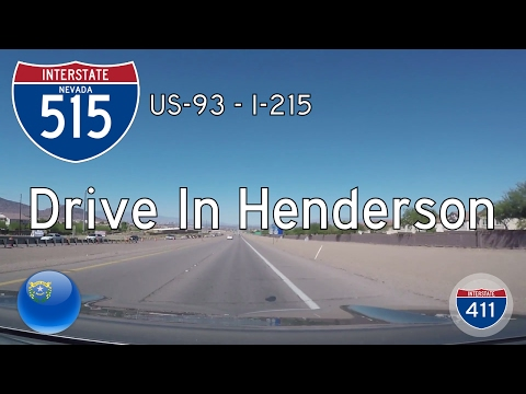 Interstate 515 - U.S. Highway 93 - Interstate 215 - Nevada | Drive America's Highways 🚙