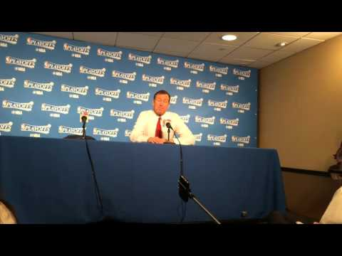 Blazers coach Terry Stotts talks about Portland's loss on Sunday.