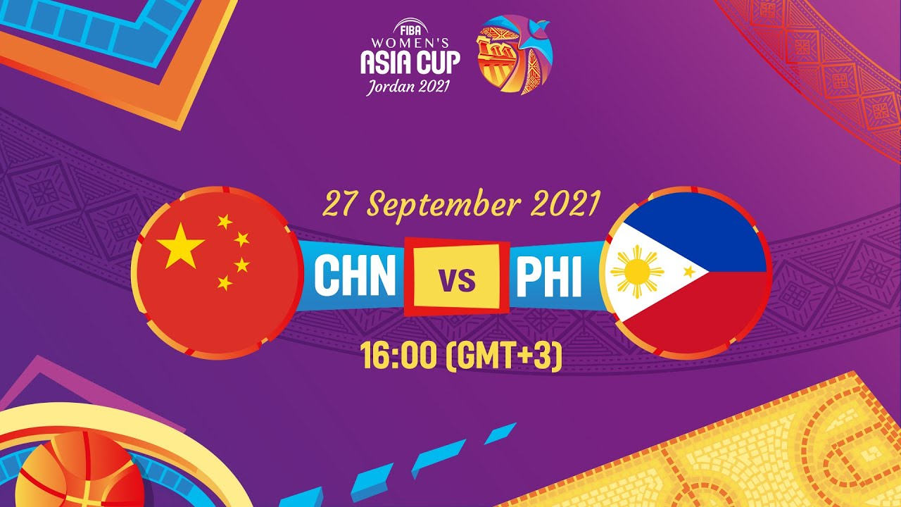 China v Philippines   Full Game   FIBA Women's Asia Cup 2021 - Division A