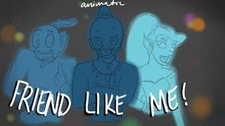 Friend Like Me - Triple Mashup (ANIMATIC)