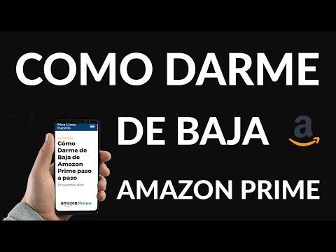 Cómo Darme de Baja de Amazon Prime paso a paso