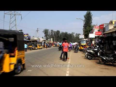 Araku valley's market streets:Visakhapatnam