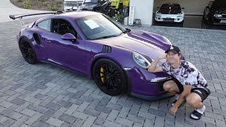 homepage tile video photo for Introducing a RARE Low Mileage GT3RS...HELP!