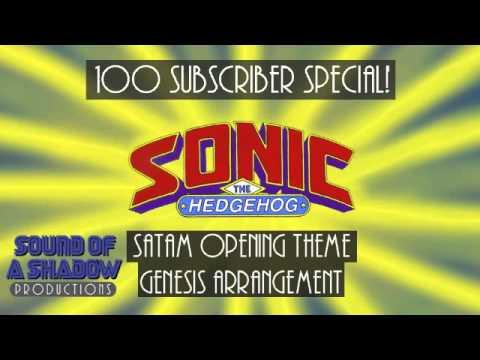 Sonic (SatAM) Opening Theme - Genesis Arrangement
