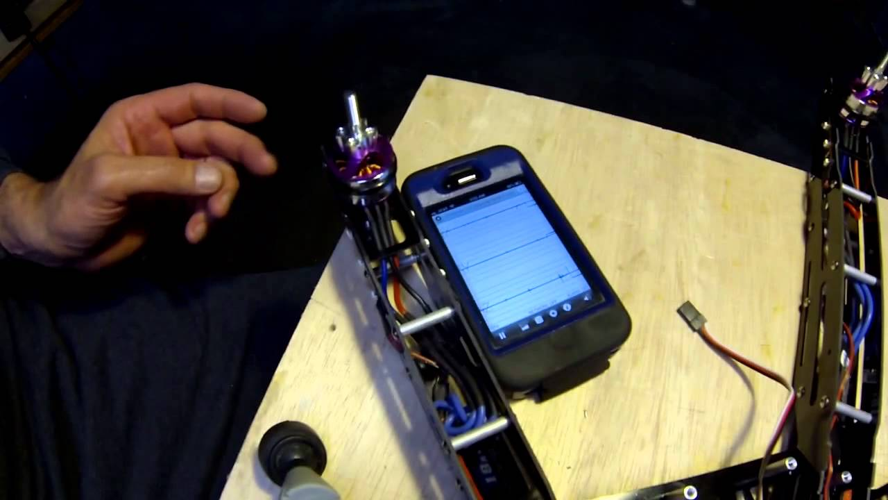 Motor balancing with use Seismometer App