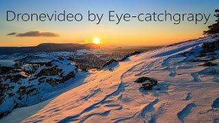 Landscape Drone Video | Swabian Alb Winter | Sunrise & Sunset