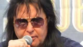 BLACKIE LAWLESS press conference about keeping his voice in shape  [Sweden Rock Festival 2014]