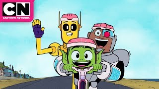 Download Cyborg's New Best Friend | Teen Titans GO! | Cartoon Network Mp3 and Videos
