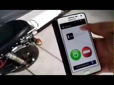 โปรเจ็ควิศวคอม DPU ปี 2: สตาร์ทมอเตอร์ไซค์ ผ่าน smartphone