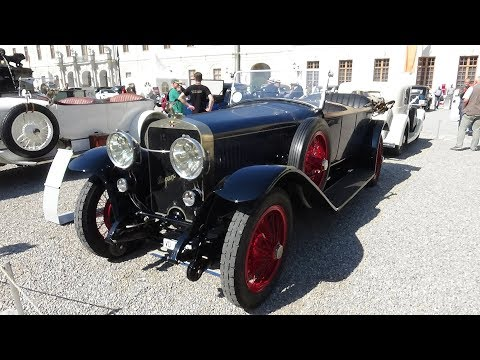 1922 Hispano-Suiza H6 - Exterior and Interior - Retro Classics meets Barock Ludwigsburg 2018