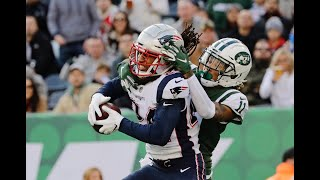 Jets' Robby Anderson on Patriots' Stephon Gilmore