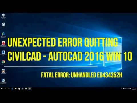 Unexpected error: quitting / Fatal error: Unhandled e0434352h (solucionado)