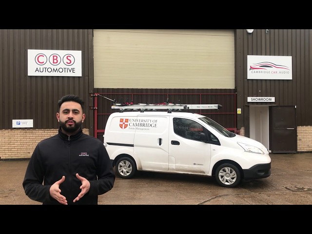 Nissan ENV200 - Sortimo Racking and Rhino Ladder System - CBS Automotive