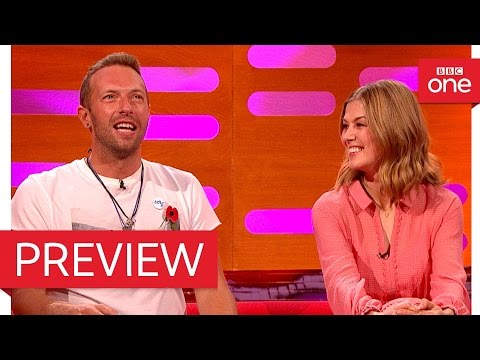 Chris Martin and Rosamund Pike discuss strange fans - The Graham Norton Show 2016 BBC One