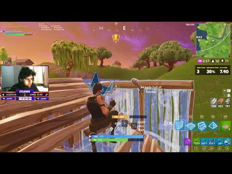 17 Kill Solo Showdown Game - Tilted Towers Drop (Fortnite BR Full Gameplay)