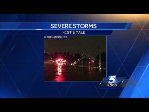 Destructive tornado hits Tulsa overnight