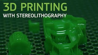 Industrial 3D Printing With Stereolithography