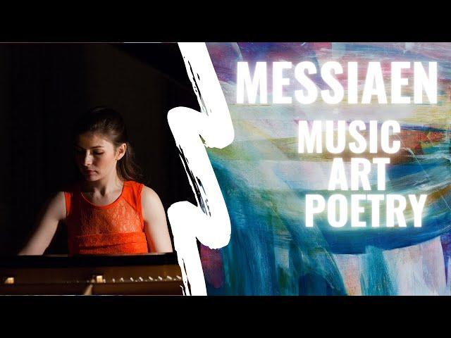 Messiaen 2015: music, poetry & art