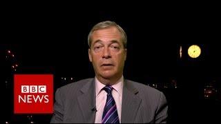 Nigel Farage  I'll be back   BBC News