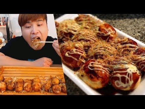 Thánh Ăn Hàn Quốc Mới Nhất || Mukbang Ăn Bánh Bạch Tuộc Takoyaki Siêu Hấp Dẫn