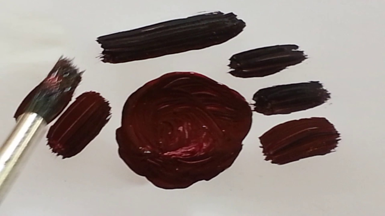 Comment faire du marron en peinture youtube - Peinture marron glace ...