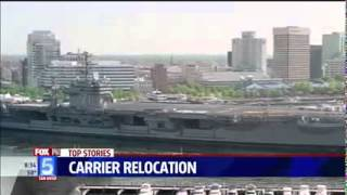 Fox coverage of Sailors and Marines beginning their journey to San Diego