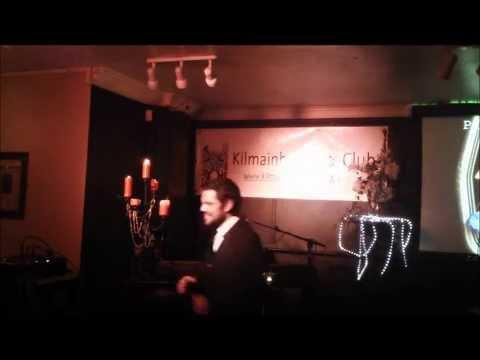 Christof Berg at arts club Dublin Tell Me