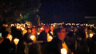 Procession nocturne à Casamaccioli