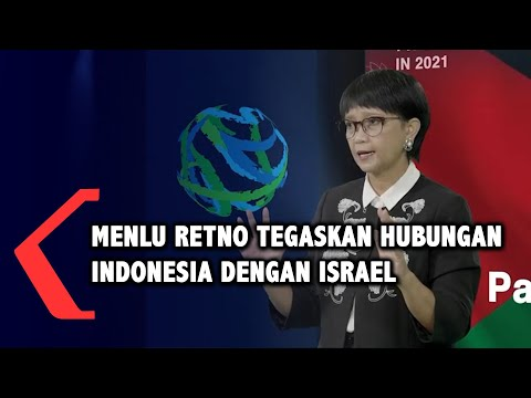 Menlu Retno Tegaskan Hubungan Indonesia Dengan Israel
