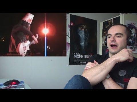 WOW!!! Buckethead - Nottingham Lace Reaction