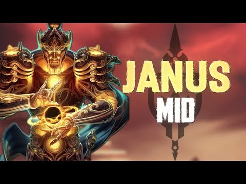 Janus Ranked Mid: THE PERFECT JANUS MATCH! - Incon - Smite