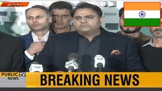Fawad Chaudhry Befitting Reply to INDIA on Pulwama Incident Drama