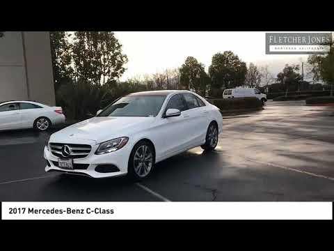 2017 Mercedes-Benz C-Class Fremont CA M9820 - YouTube