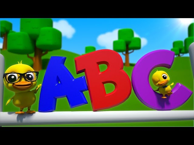 ABC Song For Kids | A-Z Alphabet Song | Learning Videos + More Nursery Rhymes