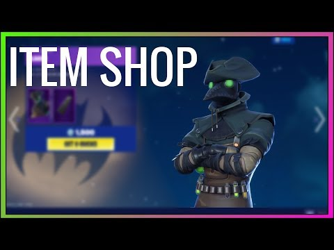 PLAGUE SKIN RETURNS! (Season X) Fortnite Item Shop NOW