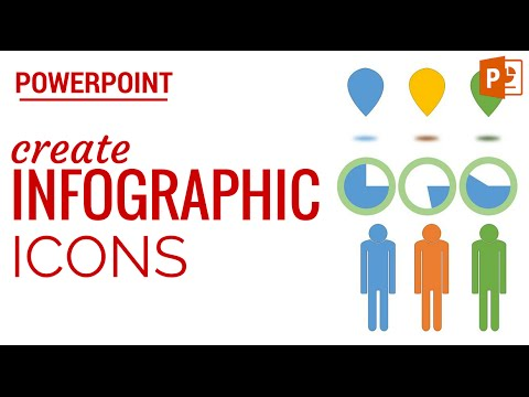Create Infographic Icons in PowerPoint using Simple Shapes - YouTube