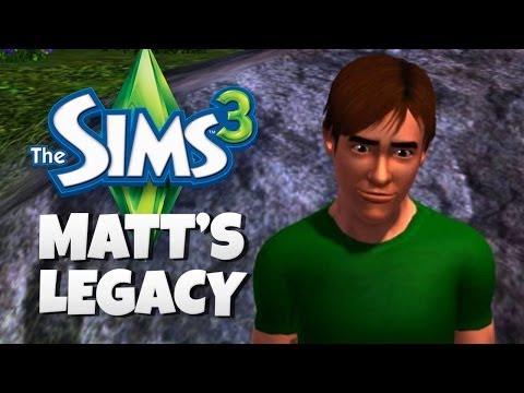 matt's-legacy---the-sims-3---funny-moments